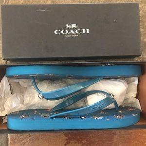 Coach Shoes - COACH Flip Flops